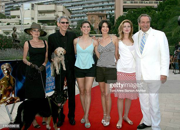 Richard Belzer and Wife Milena Govich Alana de la Garza Diane Neal and Dick Wolf