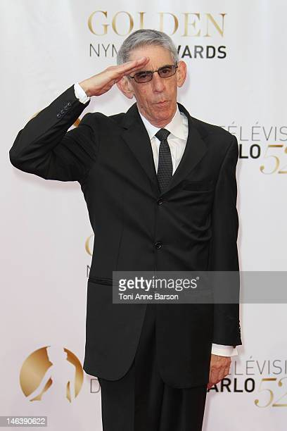 Richard Belzer arrives at the Golden Nymph Award during the 52nd Monte Carlo TV Festival Closing Ceremony on June 14, 2012 in Monte-Carlo, Monaco.