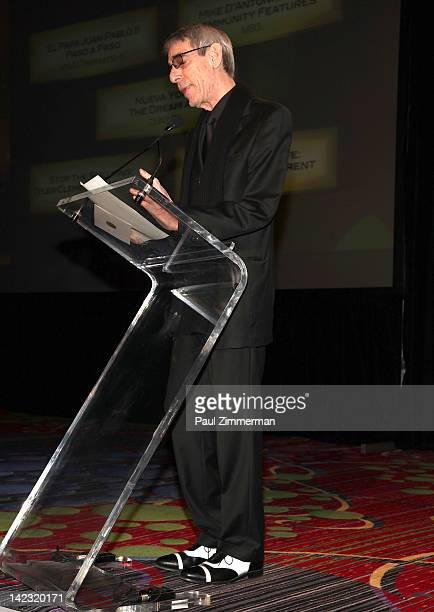 Richard Belzer attends the 55th Annual New York Emmy Awards gala at the Marriott Marquis Times Square on April 1 2012 in New York City