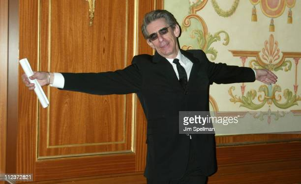Richard Belzer during 55th Annual Writers Guild of America East Awards Arrivals at The Pierre Hotel in New York City New York United States