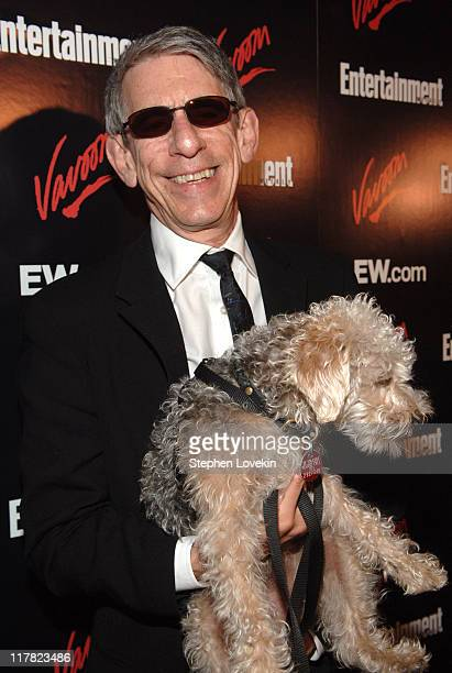 Richard Belzer during Entertainment Weekly/Vavoom 2007 Upfront Party Red Carpet at The Box in New York City New York United States