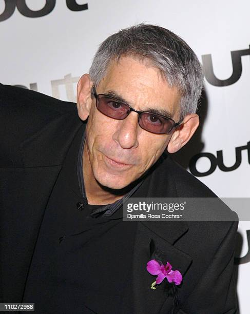 Richard Belzer during Out Magazine celebrates the 11th Annual Out 100 Awards at Capitale in New York City New York