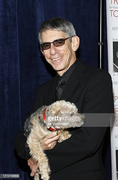Richard Belzer during RFK Memorial Celebrity Gala Honoring President Clinton and Human Rights Defenders at Chelsea Piers/Pier 60 in New York City New...