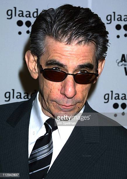 Richard Belzer during The 13th Annual GLAAD Media Awards - New York - Arrivals at New York Marriott Marquis in New York City, New York, United States.
