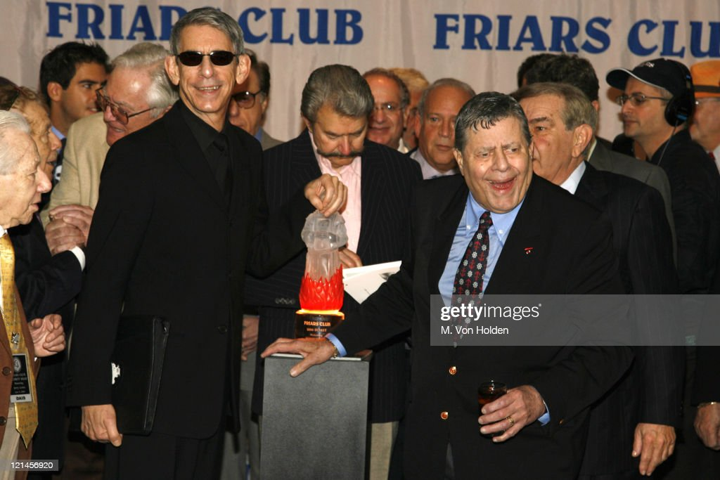 Richard Belzer, Jerry Lewis, Atmosphere during Jerry Lewis Roasted by The Friars Club at New York Hilton in New York, NY, United States.
