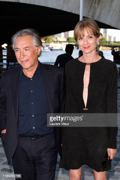 Richard Berry and Pascale Louange attend Maud Fontenoy Foundation Charity Gala at Ducasse sur Seine on June 06 2019 in Paris France