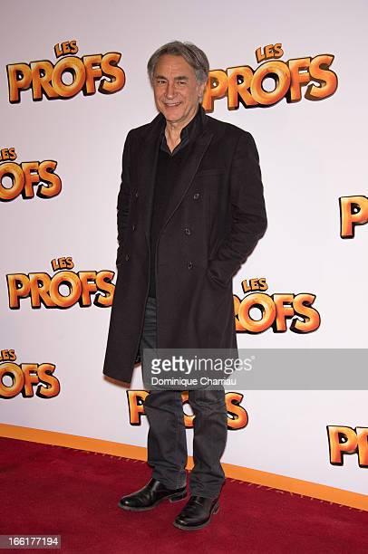 Richard Berry attends the 'Les Profs' Premiere at Le Grand Rex on April 9 2013 in Paris France