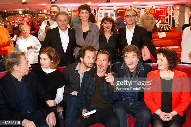 Richard Berry Emmanuelle Devos Edouard Baer main guest of the show Florent Pagny Olivier Marchal and Anne Roumanoff Michel Drucker Eglantine Emeye...