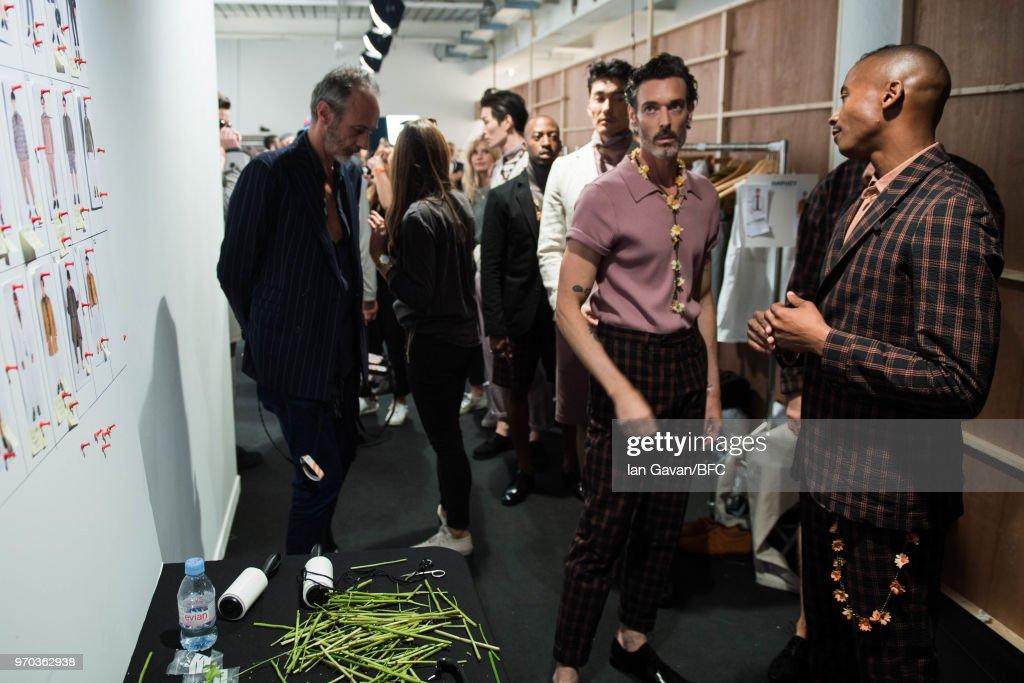 Oliver Spencer - Backstage - LFWM June 2018 : ニュース写真