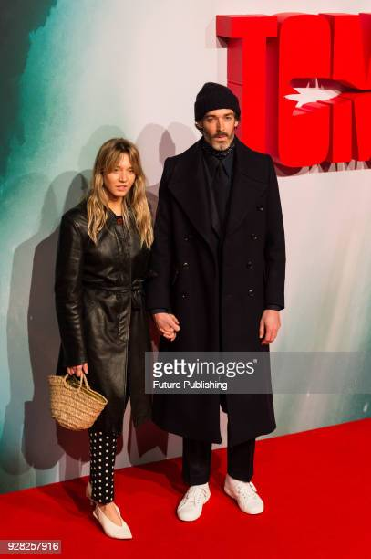 Richard Biedul and Melissa Tarlin arrive for the European film premiere of 'Tomb Raider' at Vue West End cinema in London's Leicester Square March 6...