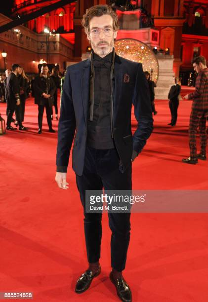 Richard Biedul attends The Fashion Awards 2017 in partnership with Swarovski at Royal Albert Hall on December 4 2017 in London England