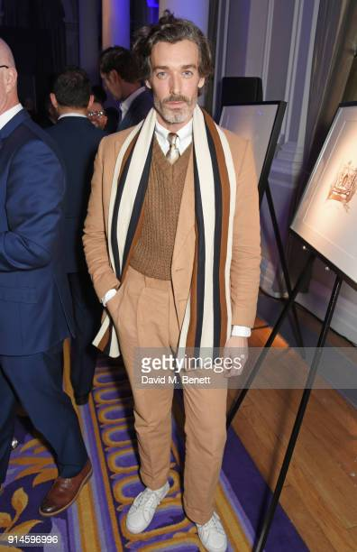 Richard Biedul attends the GQ Car Awards 2018 in association with Michelin at Corinthia London on February 5 2018 in London England