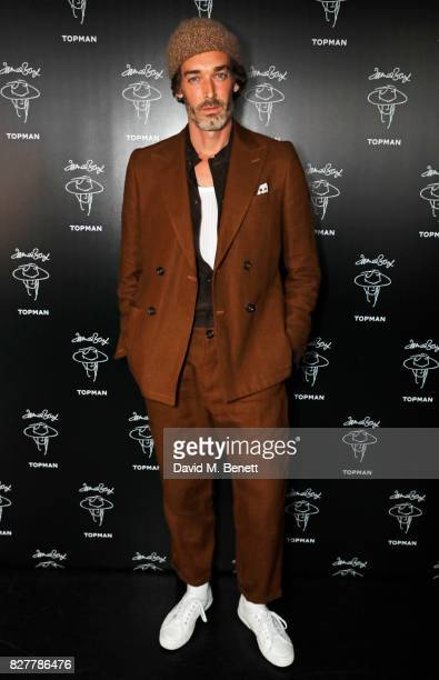 Richard Biedul attends the launch of James Bay's new Topman collection at The Ace Hotel on August 8 2017 in London England