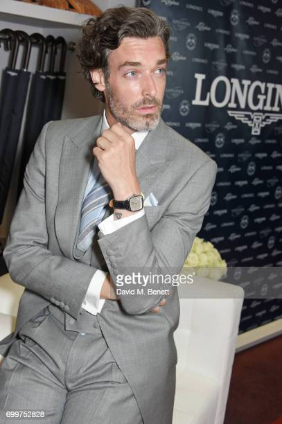 Richard Biedul attends the Longines suite in the Royal Enclosure during Royal Ascot on June 22 2017 in Ascot England