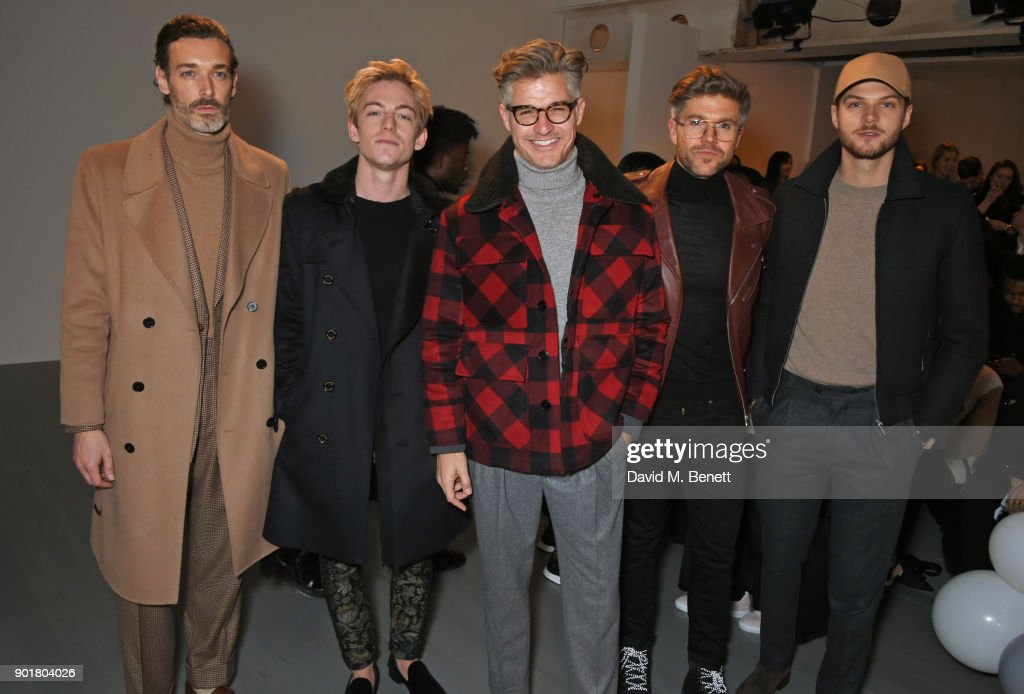 What We Wear - Front Row -  LFWM January 2018