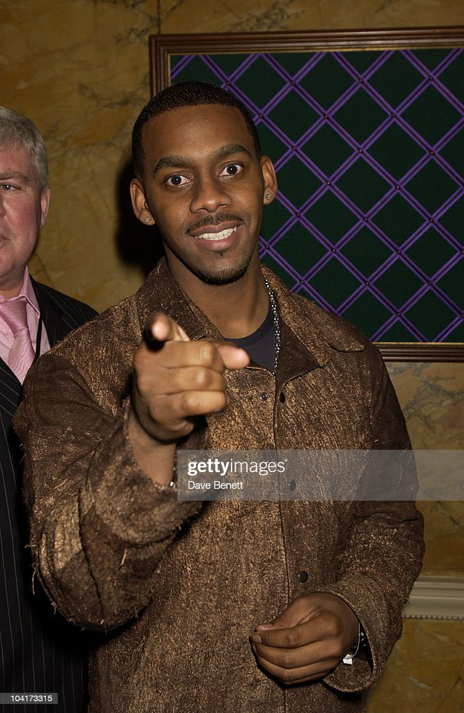 Richard Blackwood, Almost Every Pop Group Turned Up At To Home House To Celebrate The Home Magazine, BMG Brits Party At Home House, London