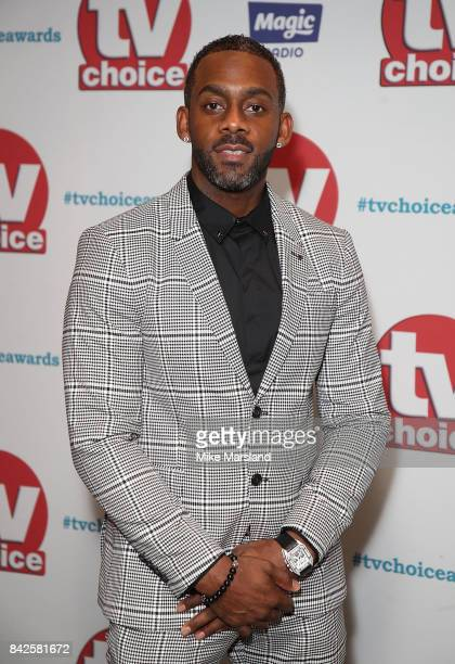 Richard Blackwood arrives for the TV Choice Awards at The Dorchester on September 4, 2017 in London, England.