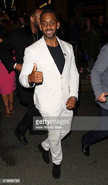 Richard Blackwood attending the British Soap Awards at the Palace Theatre on May 16, 2015 in Manchester, England.