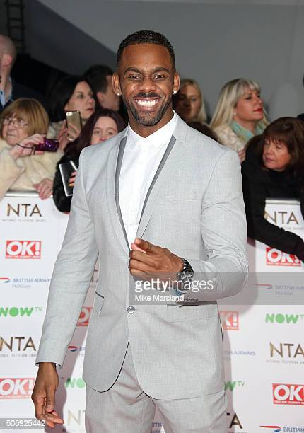 Richard Blackwood attends the 21st National Television Awards at The O2 Arena on January 20, 2016 in London, England.