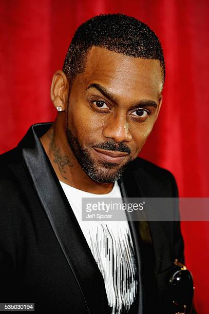 Richard Blackwood attends the British Soap Awards 2016 at Hackney Empire on May 28, 2016 in London, England.