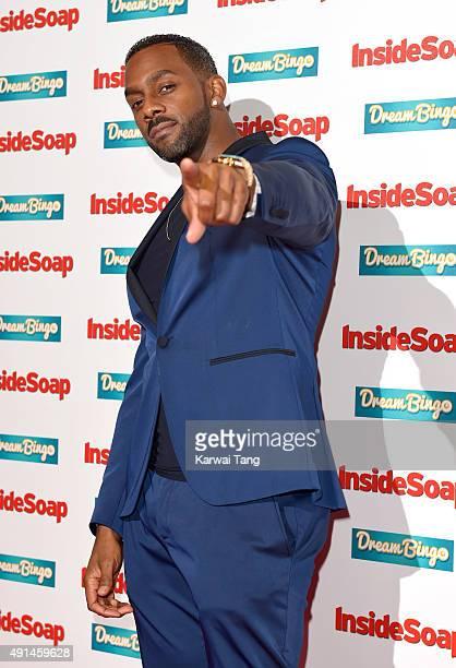 Richard Blackwood attends the Inside Soap Awards at DSKTRT on October 5, 2015 in London, England.