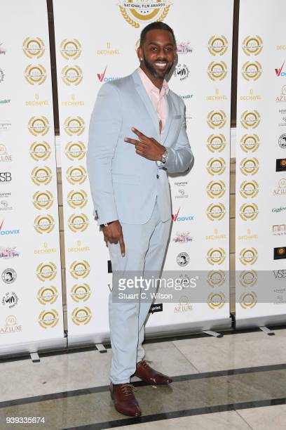 Richard Blackwood attends the National Film Awards UK at Porchester Hall on March 28 2018 in London England
