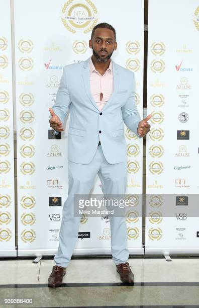 Richard Blackwood attends the National Film Awards UK at Portchester House on March 28 2018 in London England