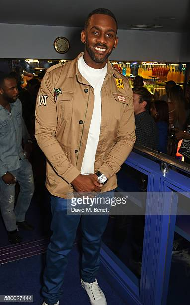 """Richard Blackwood attends the UK Premiere of """"The Intent"""" at Cineworld Haymarket on July 25, 2016 in London, England."""
