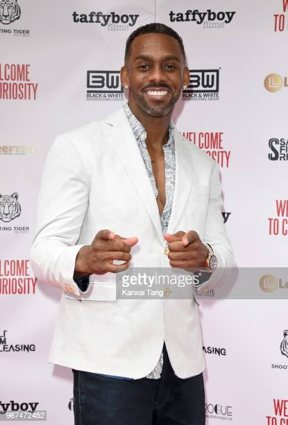 Richard Blackwood attends the UK premiere of 'Welcome To Curiosity' at Prince Charles Cinema on June 4, 2018 in London, England.