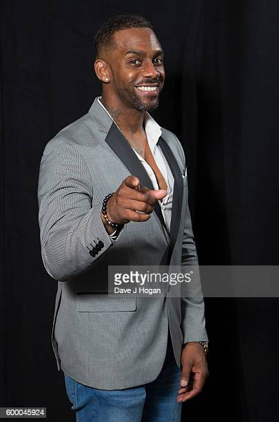 Richard Blackwood poses backstage at the Daily Mirror and RSPCA Animal Hero Awards at Grosvenor House on September 7 2016 in London England