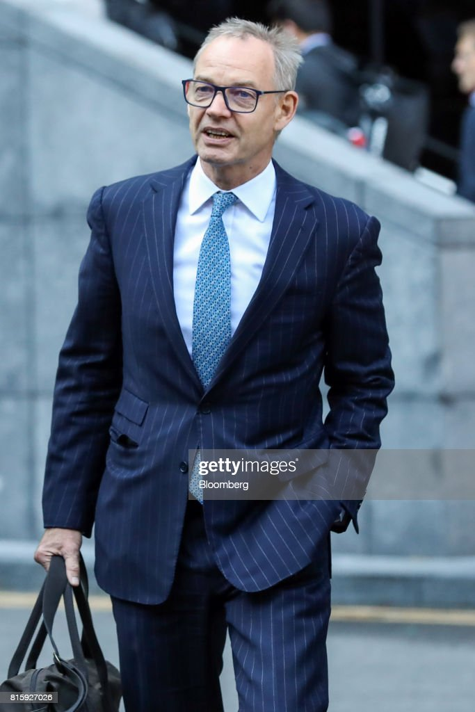 Richard Boath, former deputy head of investment banking at Barclays Plc, arrives at Southwark Crown Court in London, U.K., on Monday, July 17, 2017. Boath, along with three formerBarclays Plcexecutives will stand trial on allegations they conspired to commit fraud over the bank's 2008 fundraising with Qatar in 2019, a London judge ruled. Photographer: Chris Ratcliffe/Bloomberg via Getty Images