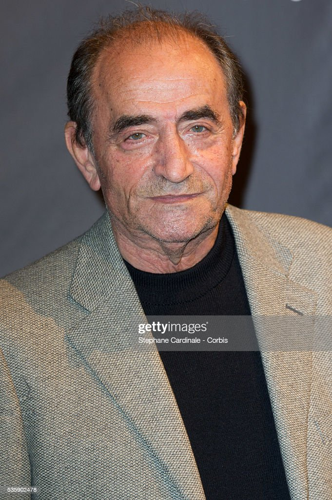 Richard Bohringer attends the Tribute to Quentin Tarantino, during the 5th Lumiere Film Festival, in Lyon.