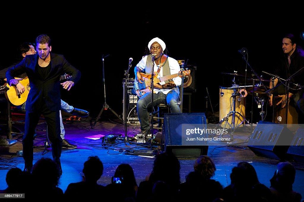 Richard Bona Performs In Concert In Madrid
