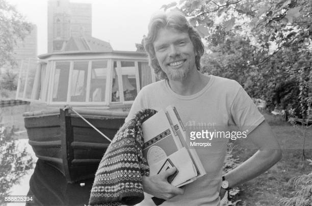 Richard Branson 28 year old mastermind behind Virgin Music company Seen here going to work In this set of 21 pictures Richard is seen relaxing on his...