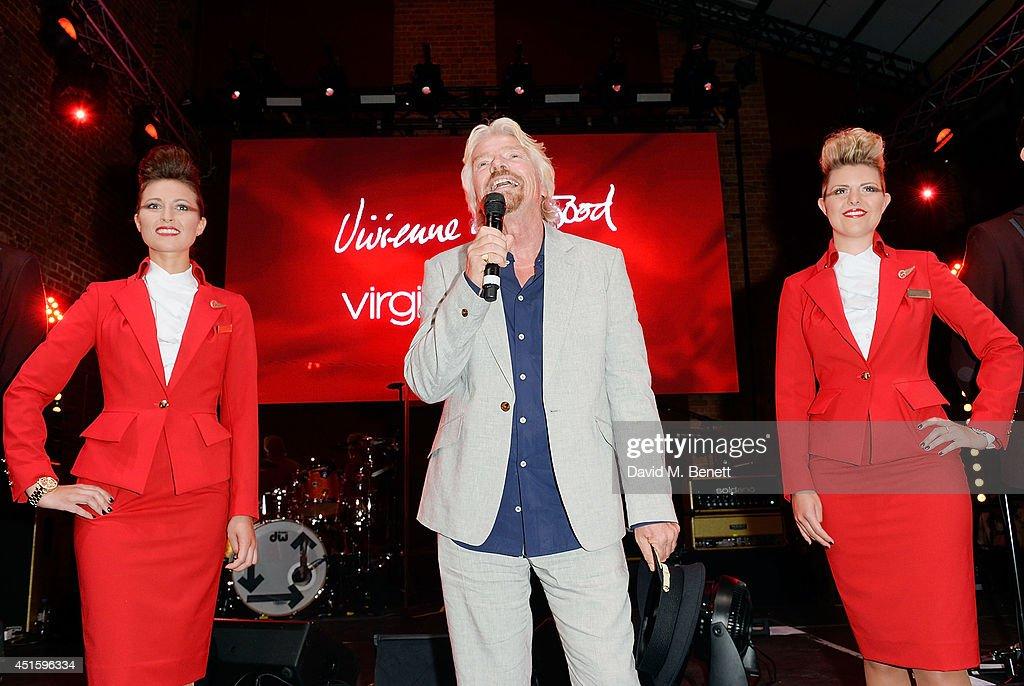 Launch Party To Celebrate Virgin Atlantic's New Vivienne Westwood Uniform Collection : News Photo