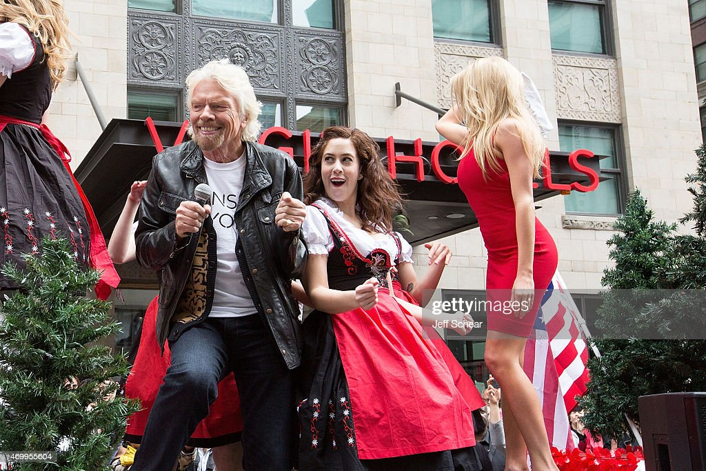 The Virgin Hotel Grand Opening In Chicago - Parade : News Photo