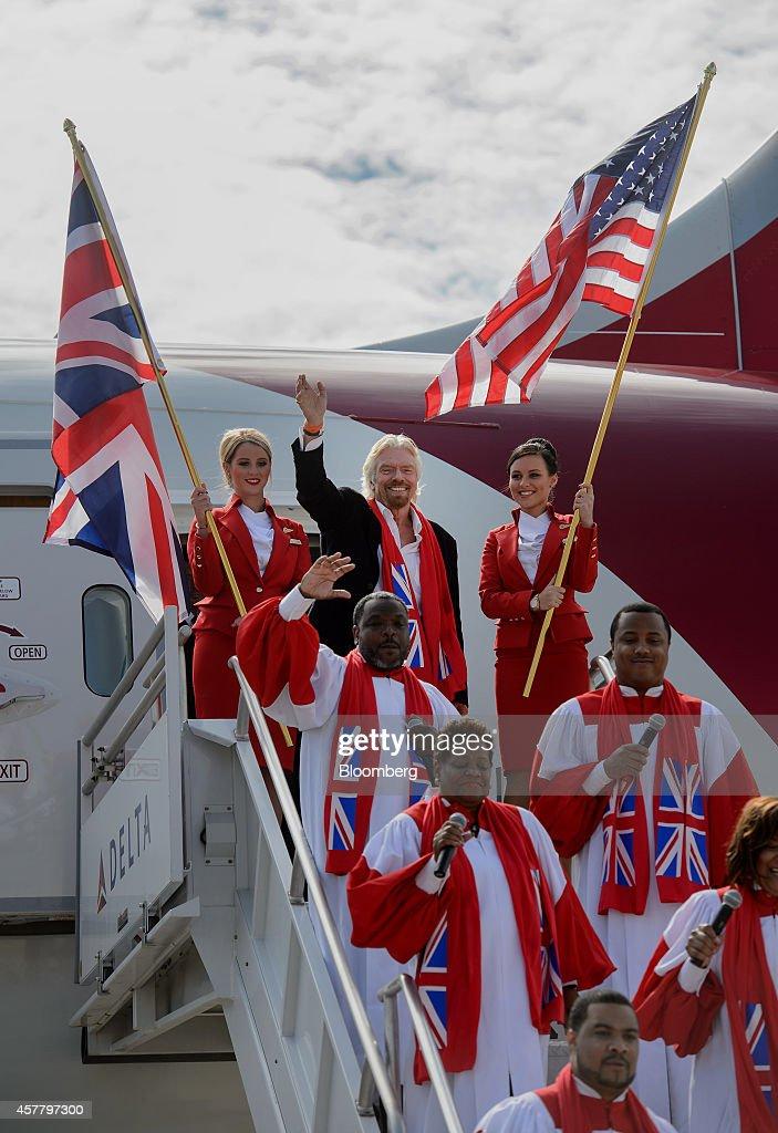 Virgin Atlantic Begins Dreamliner Service To Atlanta's Hartsfield Jackson Airport : News Photo