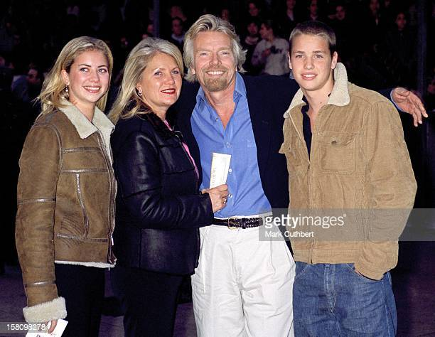 Richard Branson Family Attend The 'Harry Potter And The Philosopher'S Stone' World Film Premiere In London