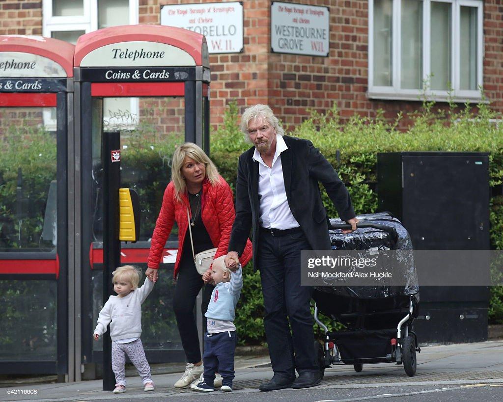 London Celebrity Sightings -  June 20, 2016 : News Photo