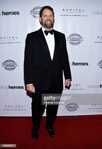 Richard Braun arrives at the 3rd Annual Unlikely Heroes Awards Dinner and Gala at the Sofitel Hotel on November 8 2014 in Los Angeles California
