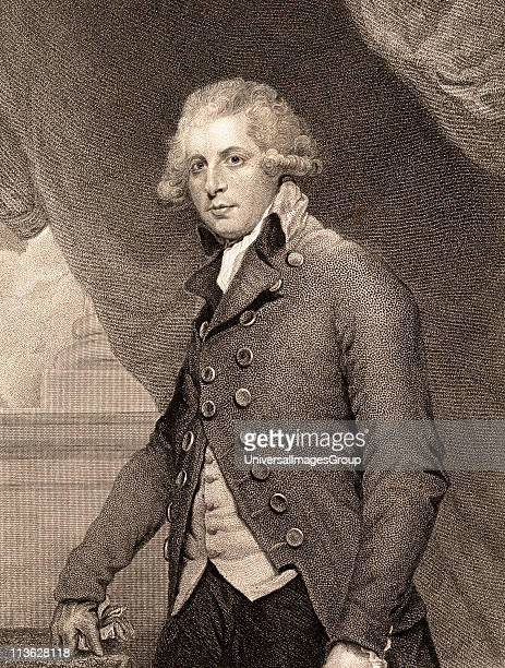 Richard Brinsley Sheridan17511816 AngloIrish dramatist and politician19th century print engraved by R Hicks from the painting by SirJoshua Reynolds