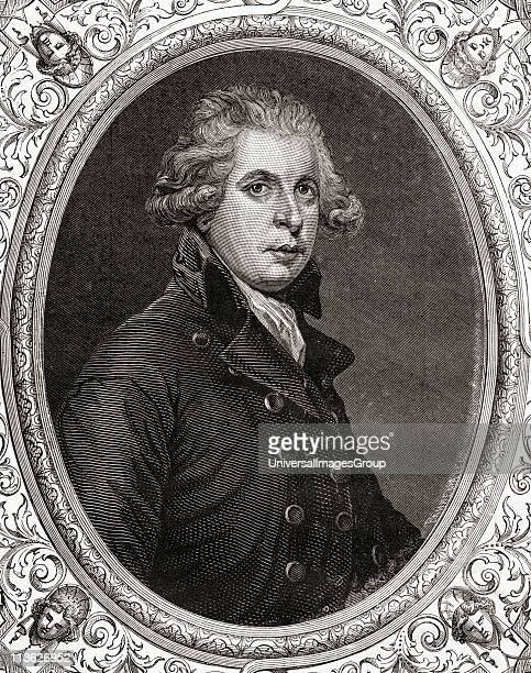 Richard Brinsley Sheridan17511816 AngloIrish dramatist and politician From Histoire de la Revolution Francaise by Louis Blanc