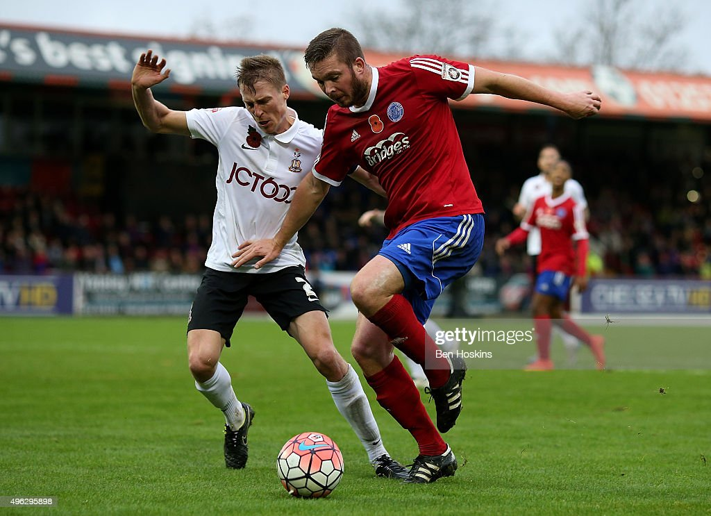 Aldershot Town v Bradford City - The Emirates FA Cup First Round