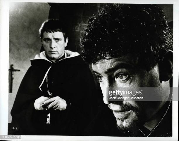 Richard Burton as Thomas Becket and Peter O'Toole as King Henry II of England in Becket directed by Peter Glenville in 1964