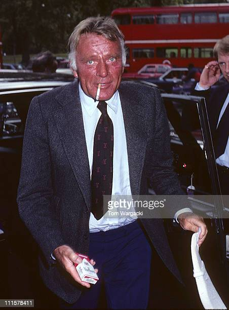 Richard Burton during Richard Burton at the Dorchester Hotel August 25 1981 in London Great Britain