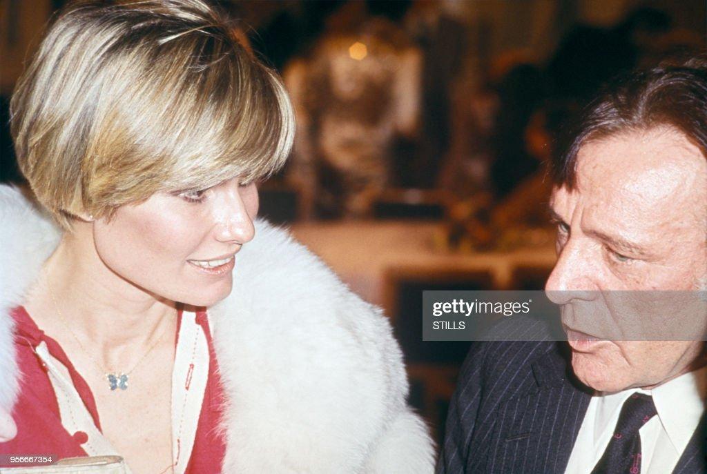 Richard Burton et sa femme Suzy Miller : News Photo