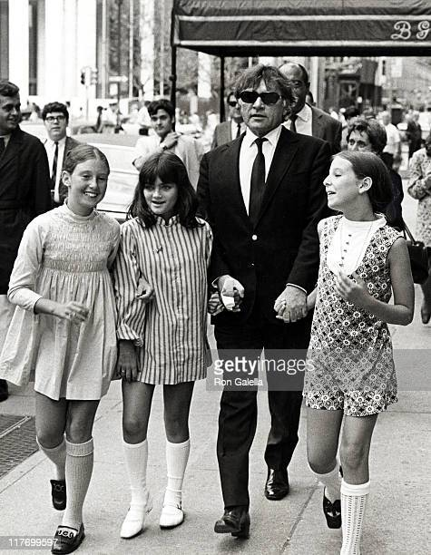 Richard Burton Liza Todd and Aaron Forsch's Two Daughters