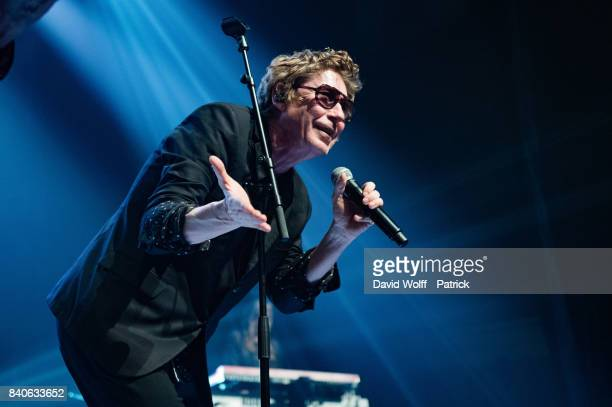 Richard Butler from The Psychedelic Furs performs at Elysee Montmartre on August 29, 2017 in Paris, France.