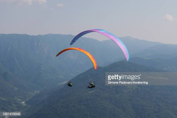 Richard Butterworth trains with his team on July 18 2018 in Feltre Italy Richard Butterworth starts training with his team today before the British...