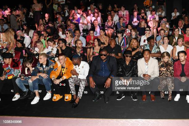 Richard Camacho Erick Brian Colon Joel Pimentel Christopher Velez Zabdiel de Jesus and Sfera Ebbasta guests Stevie Wonder Cardi B